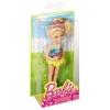 Кукла Челси в купальнике, Barbie, Mattel, желтая юбка, DGX40-1