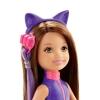 Кукла Челси, брюнетка в фиолетовом, серия Шпионская история, Barbie, Mattel, в фиолетовом, DHF09-2