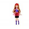 Мини-кукла с красными прядями, серия Рок-принцесса. Barbie. Mattel, с красными прядями, CKB72-4