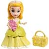 Принцесса Амбер, мини-кукла в желтом платье, Sofia the First, Disney Princess, Mattel, желтое платье, CJP98-1
