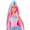 Принцесса Барби с розовыми волосами, Сказочно-длинные волосы, Barbie, Mattel, розовые волосы, DKB56-2
