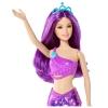Русалочка, серия Миксуй и комбинируй, Barbie, Mattel, Тереза (фиолетовые волосы и наряд), CFF28-1