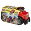 Автомобиль Jeep 3 в 1, джип красный, Mega Bloks, DBL13