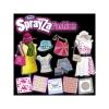 Фломастеры и трафареты, набор Flower Style для рисовании на ткани, серии Sparyza, RenArt, SF6004UK(UA)