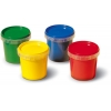 Пальчиковые краски серии My first (4 цвета в баночках). SES, 14413S