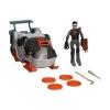 Боевой ресурфейсер-трансформер с фигуркой Кейси Джонса (12 см) серии Черепашки-ниндзя, TMNT, 94265