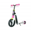Самокат Scoot and Ride серии Highwayfreak 3.0 бело-розово-желтый, 3-5 лет до 50кг (SR-202310-WHITE-PINK-YELLOW)