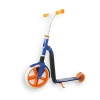 Самокат Scoot and Ride серии Highwaygangster бело-сине-оранжевый, от 5 лет, макс 100кг (SR-216265-WHITE-BLUE-ORANGE)