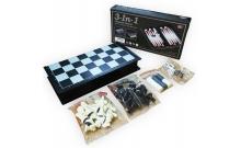 Магнитный набор - Шахматы, шашки, нарды 32х32 см