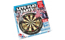 Набор для дартс (сизаль, 6 дротиков) Harrows LET`S PLAY DARTS GAME SET