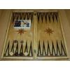Нарды ручной работы деревянные 50 x 50 см, пр-во Украина