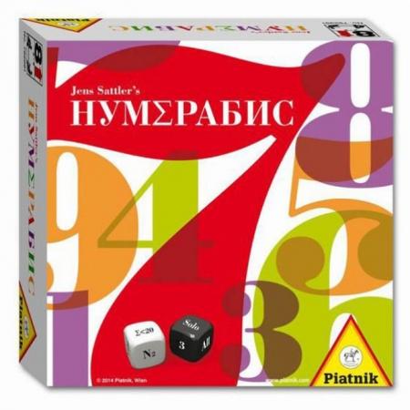 Нумерабис - Настольная игра. Piatnik