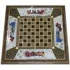 Восточные нарды Мозаика хатам с росписью (Иран) 50 x 50 см, TYPE-B