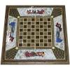 Восточные нарды Мозаика хатам с росписью (Иран) 50 x 50 см, TYPE-C