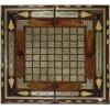Восточные нарды Мозаика хатам со вставками дерева (Иран) 50 x 50 см, TYPE-D