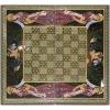 Восточные нарды Мозаика хатам с росписью (Иран) 50 x 50 см, TYPE-GA