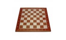 Шахматная доска №5+ (52х52см), клетка 5,5 см. Польша