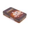 Домино в метал. футляре (настольная игра) IG-5210P (кости-пластик, h-5см, р-р футляра 19x3,5x11,5см)