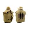 Фляга с котелком V-1л в чехле TY-4834-3 (пластик, чехол хаки)