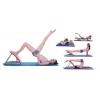 Доска для йоги и стретчинга регулируемая 4-х уровневая YOGA FI-620-V (р-р 57,5 x 41,5 x 44см)