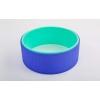 Колесо-кольцо для йоги FI-5110 Yoga Wheel (PVC, TPE, р-р 32х13см, зеленый-фиолетовый)