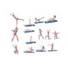 Палка гимнастическая для фитнеса с эсп. Bodi Shaper Stick PS F-932 (пластик,неоп,l-100см,l эсп-65см)