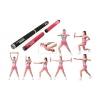 Палка гимнастическая разборная утяж. Weighted Gym Bars PS FI-940 (4LB) (l-62см,металл, неопр,2части)