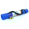 Коврик для фитнеса Yoga mat PVC 4мм с фиксирующей резинкой YG-2774(B) (1,73м x 0,61м x 4мм, синий)
