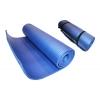Коврик для фитнеса, каремат NBR 10мм с фиксирующей резинкой YG-2778-1 (1,83м x 0,61м x 10мм, синий)