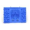 Коврик-пазл ортопедический массажный резиновый магнитный (1шт) ZD-5080-B (р-р 39см x 28см, голубой)