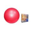 Мяч для фитнеса (фитбол) PS массажный 65см FI-078(65) (PVC, 1100г, цвета в ассор,ABS-система)