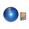 Мяч для фитнеса (фитбол) ZEL гладкий сатин 65см FI-1983-65 (PVC, 800г, цвета в ассор, ABS-система)