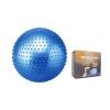 Мяч для фитнеса (фитбол) ZEL массажный 55см FI-1986-55 (PVC, 900г, цвета в ассор,ABS-система)