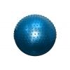 Мяч для фитнеса (фитбол) полумассажный 2 в1 75см FI-4437-75 (PVC, розовый, фиолет, голубой, 1300г)