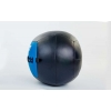 Мяч медицинский (волбол) WALL BALL FI-5168-5 5кг (PU, наполнитель-метал. гранулы, d-33см, синий)