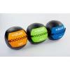 Мяч медицинский (волбол) WALL BALL FI-5168-6 6кг (PU, наполнитель-метал. гранулы, d-33см, желтый)