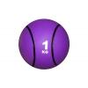 Мяч медицинский (медбол) C-2660-1 1кг (верх-резина, наполнитель-песок,d-19,5см,цвета в ассортименте)