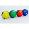Мяч медицинский (медбол) FI-5121-9 9кг (резина, d-28,5см, синий-черный)