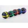Мяч медицинский (медбол) FI-5122-1 1кг (резина, d-19см, черный-желтый)