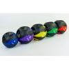 Мяч медицинский (медбол) с двумя рукоятками FI-5111-5 5кг (резина, d-27,5см, черный-фиолетовый)