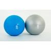 Мяч медицинский (слэмбол) SLAM BALL FI-5165-5 5кг (резина, минеральный наполнитель, d-23см, синий)