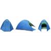 Палатка кемпинговая 6-и местная с тентом и коридором SY-017 (р-р 2,2х2,5х1,5м, PL)
