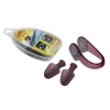 Беруши для ушей+зажим для носа в пластик. футляре HN-2 (силикон, пластик)