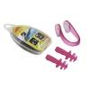 Беруши для ушей+зажим для носа в пластик. футляре HN-5 (силикон, пластик)