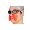 Очки для плавания ARENA с рассекателем AR-1E011-45 FS BREATHER KIT (поликарбон, TPR,силикон, черный-серый)