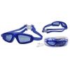 Очки, беруши для плавания с застежкой SEALS HP-8600 (пластик, силикон, цвета в ассортименте)