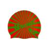 Шапочка для плавания ARENA AR-94168-17 PRINT SOUTH TROPICALORNG (силикон, оранжевый-зеленый)