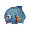 Шапочка для плавания детская (3-10лет) PL-4367-2 Рыбка-2 (силикон, цвета в ассортименте)
