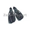Ласты с закрытой пяткой (калоша цельная) 444 ZEL ZP-444-L (р-р L-42-43, жёлтый, синий, чёрный)