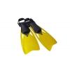 Ласты с открытой пяткой (пяточный ремень) 438 DORFIN PL-438-L-XL (р-р L-XL-42-45, жёлтый, синий,сер)
